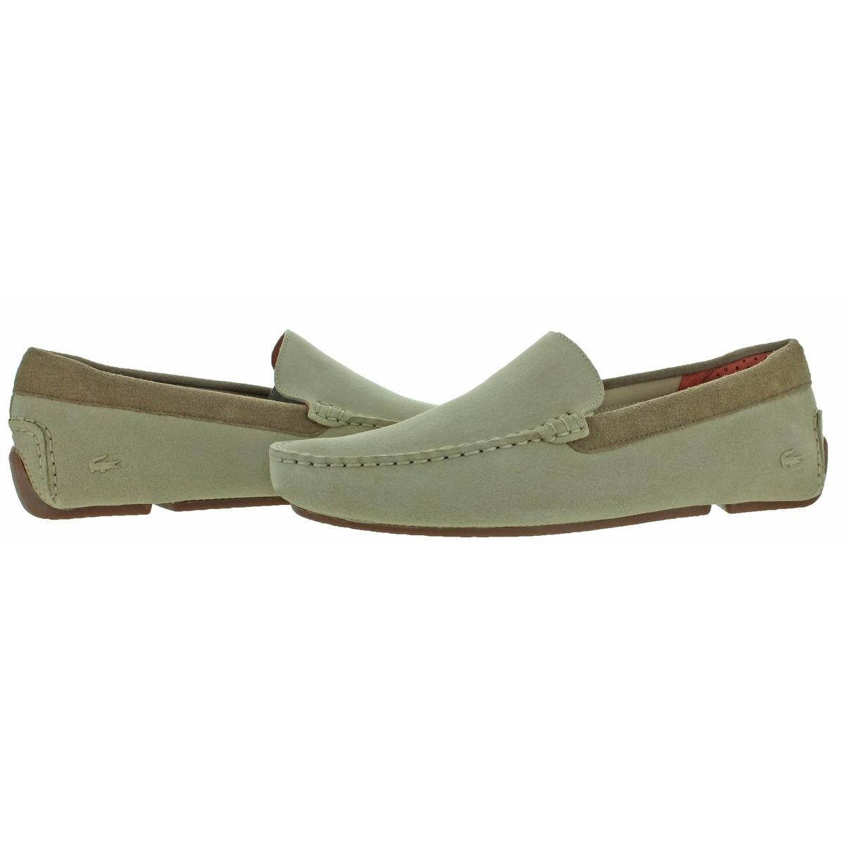 e822e4b39166 Shop Lacoste Mens Piloter Driving Moccasins Suede Loafer - Free Shipping  Today - Overstock - 24020191
