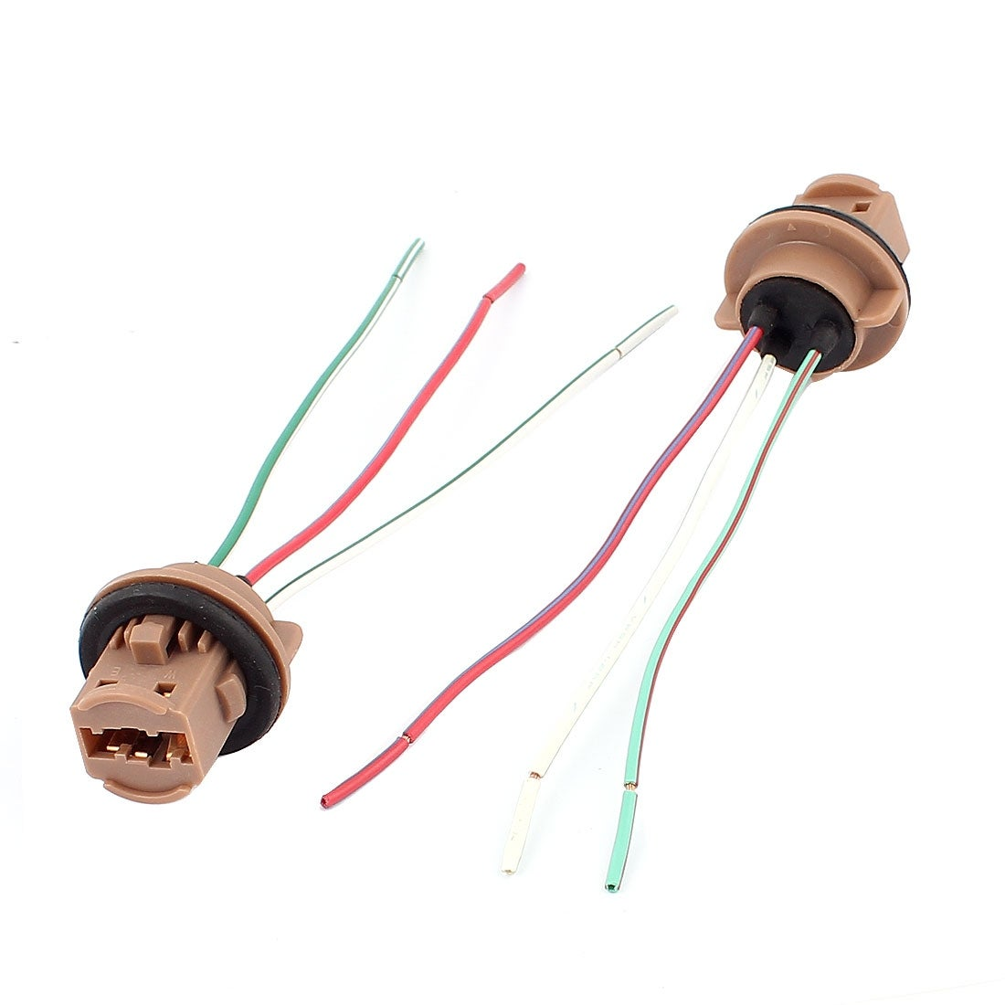 Shop Car Turn Signal Light Bulb T20 Socket Wiring Wire Harness Connectors Connector 2pcs Free Shipping On Orders Over 45 18469163