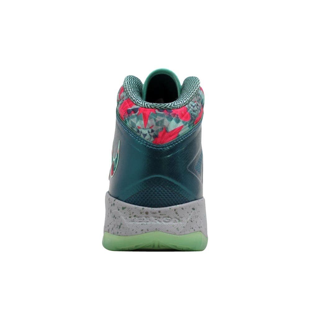 e5be604e0baa0 Shop Nike Men s Lebron Zoom Soldier VII 7 Dark Sea Pink Foil-Wolf  Grey-Green Glow Power Couple South Beach 599264-300 Size 12.5 - On Sale -  Free Shipping ...