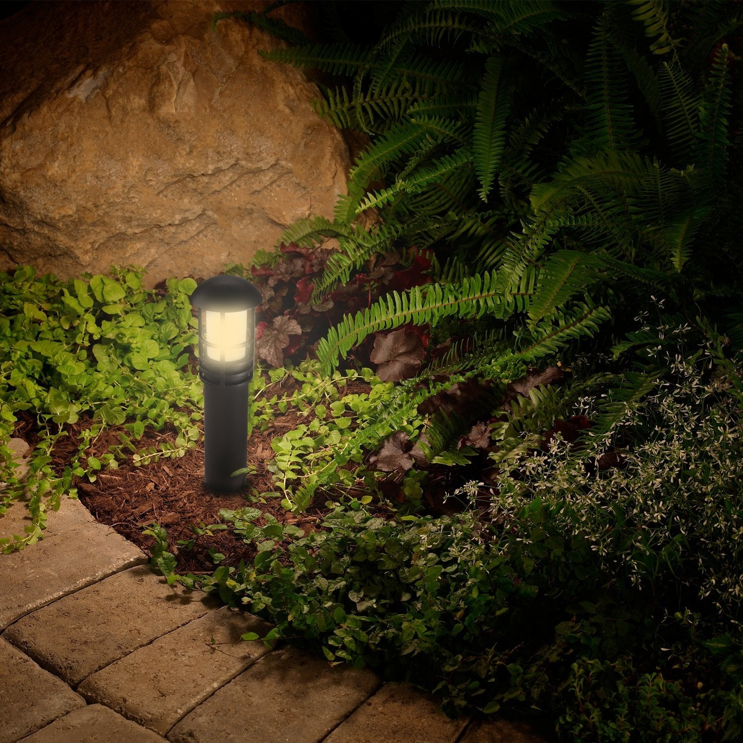 Shop LEONLITE LED Landscape Light, Waterproof, 3W, 3000K Warm White - Free  Shipping On Orders Over $45 - Overstock.com - 18087197 - Shop LEONLITE LED Landscape Light, Waterproof, 3W, 3000K Warm White