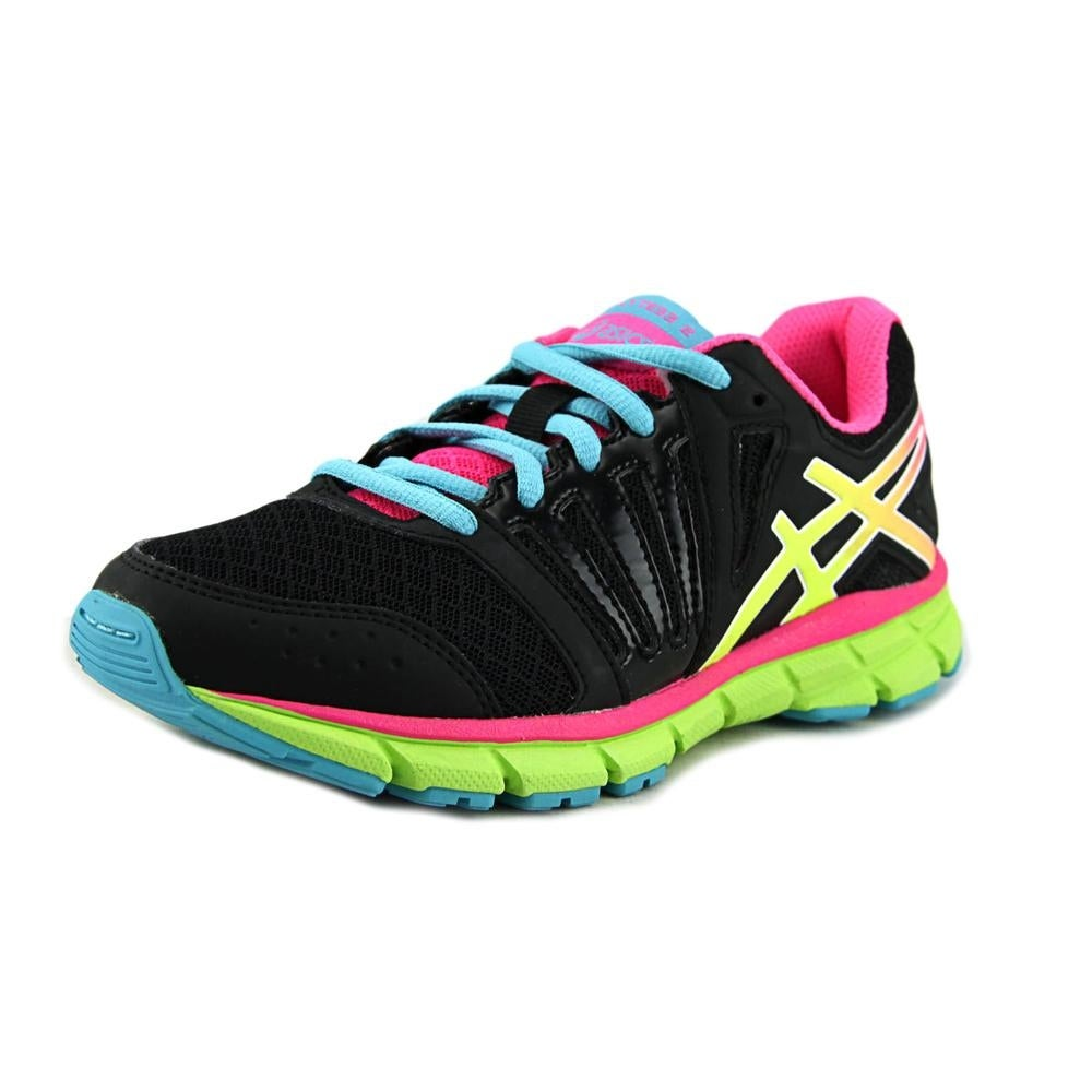 92ed77bdfbc9 Shop Asics Gel-Lyte33 2 GS Girl Black Flash yellow hot pink Athletic Shoes  - Free Shipping On Orders Over  45 - Overstock.com - 14544594