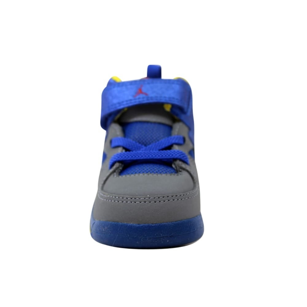 d6bd8a2b5c83f Shop Nike Air Jordan Flight Club  91 Cool Grey Gym Red-Game Royal-Yellow  Toddler 555330-027 Size 4.5 Medium - On Sale - Free Shipping On Orders Over   45 ...