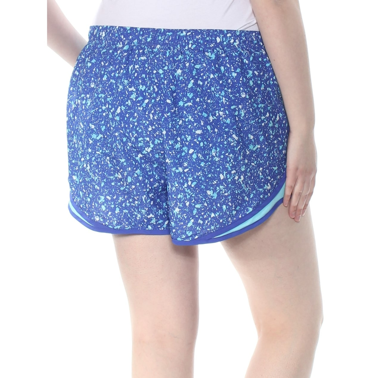 da40fe024d2b0 Shop NIKE Womens Blue Speckle Active Wear Short Plus Size: 1X - On Sale -  Free Shipping Today - Overstock - 28259046