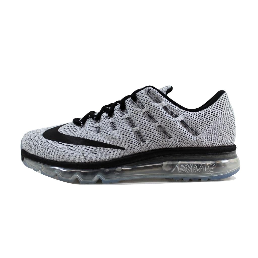 watch 76ba8 1ed6b Shop Nike Mens Air Max 2016 WhiteBlack 806771-101 - Free Shipping Today -  Overstock - 21893368