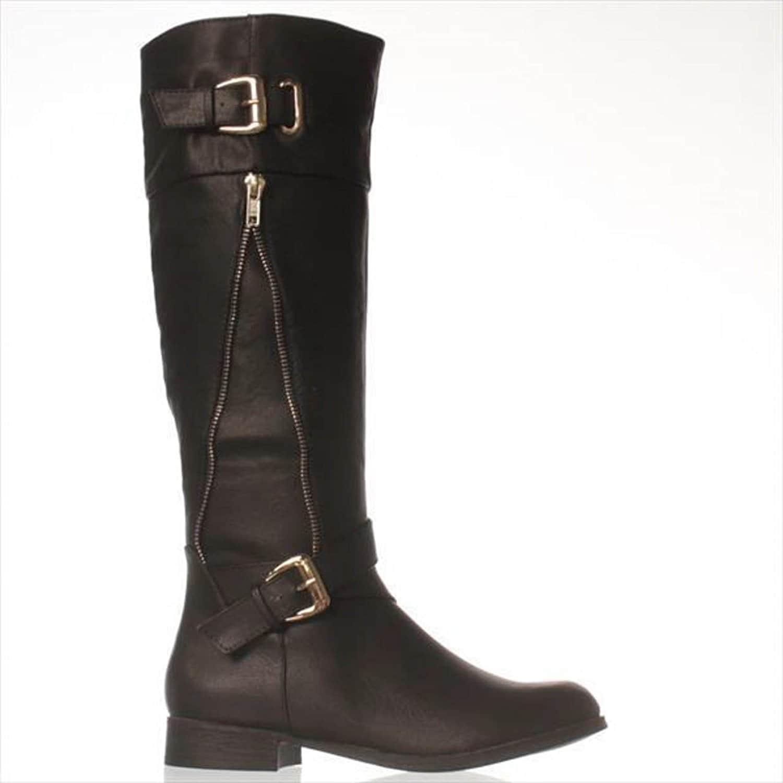 3ed2b1f6468 Shop just fab womens chrissy closed toe knee high riding boots jpg  1500x1500 Justfab wide calf