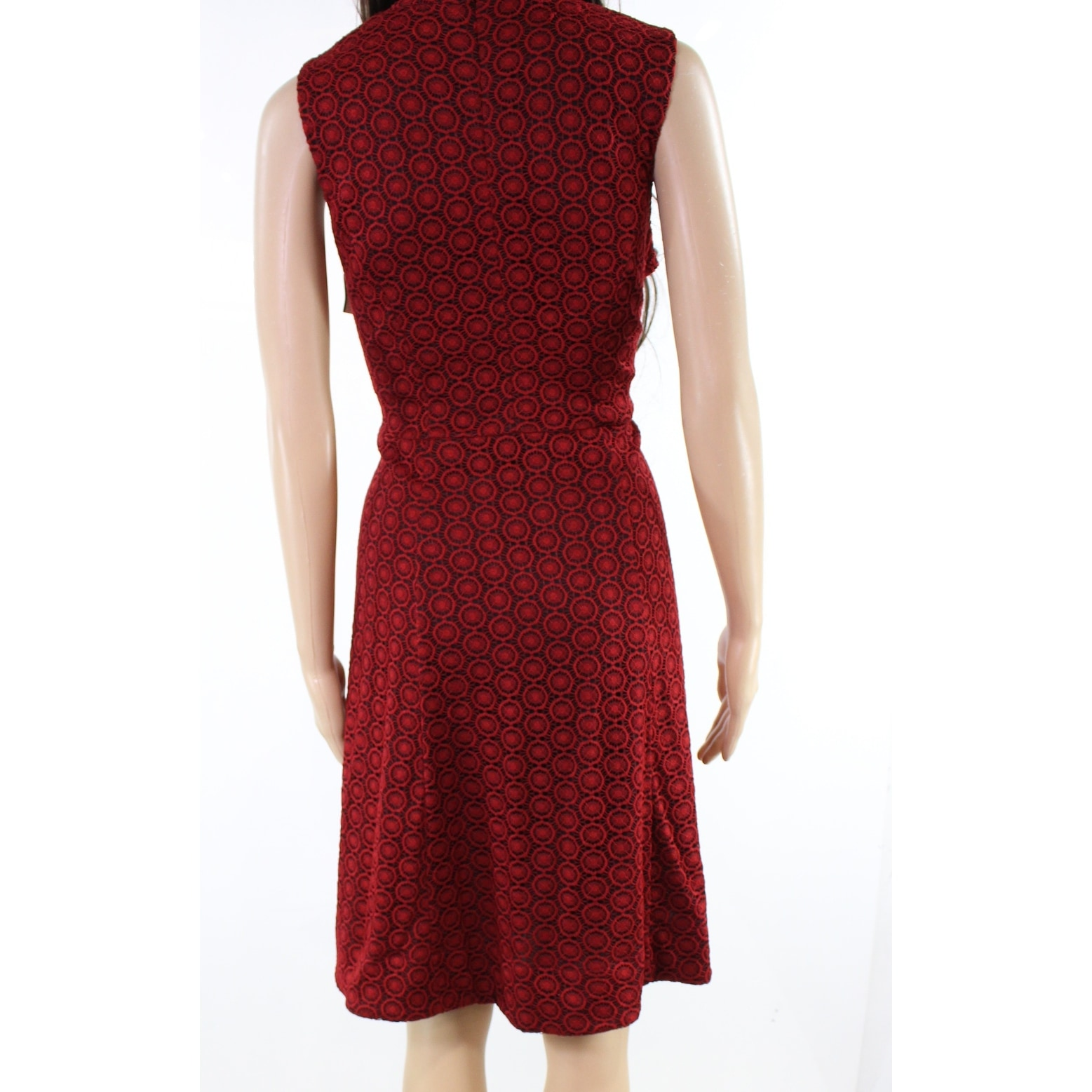 2b0b7e5cfcb6 Shop Signature By Robbie Bee Red Womens Size 12P Petite A-Line Dress ...