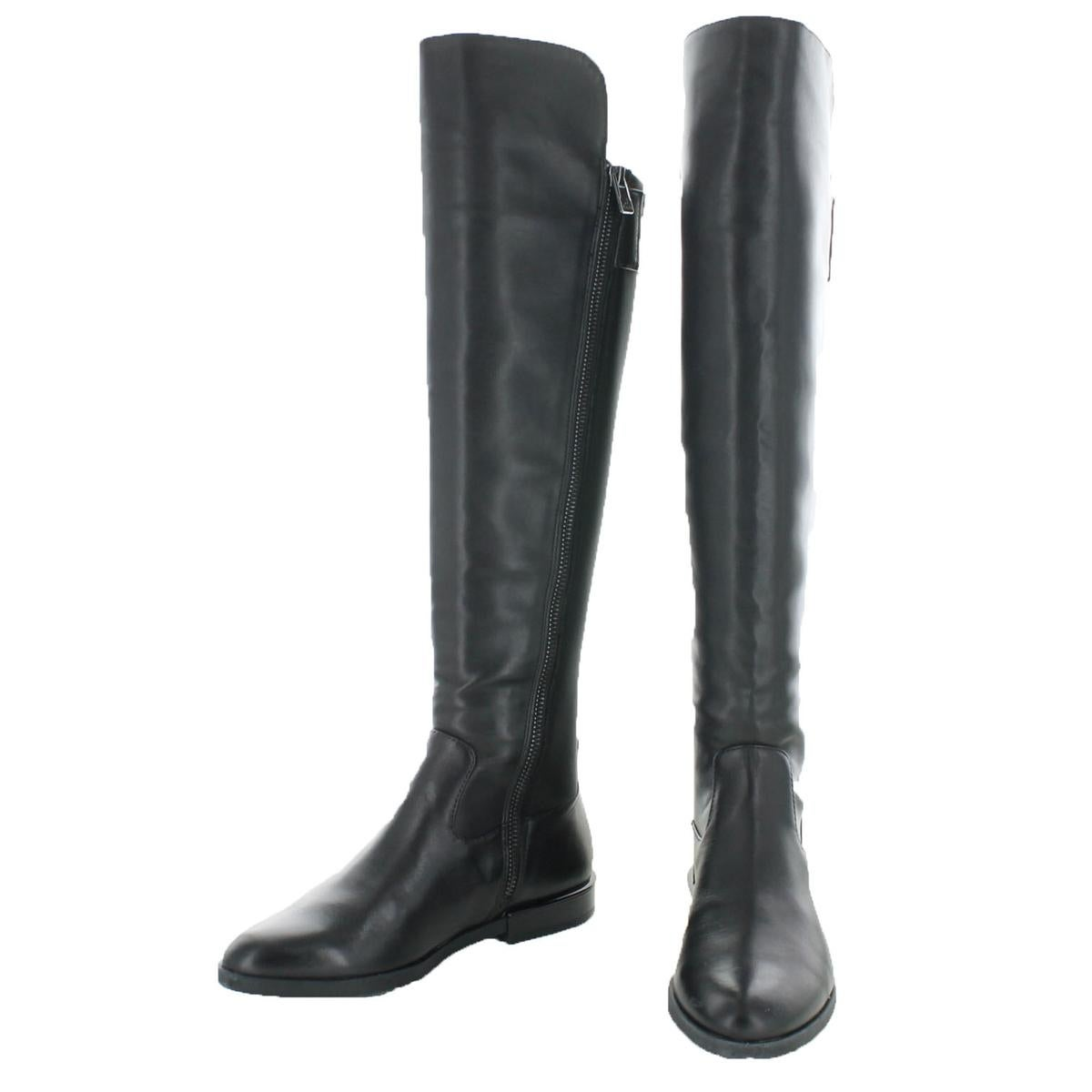 83eeb81d69f Shop Calvin Klein Womens Priya Over-The-Knee Boots Pointed Toe Riding Boot  - Free Shipping Today - Overstock - 22201301