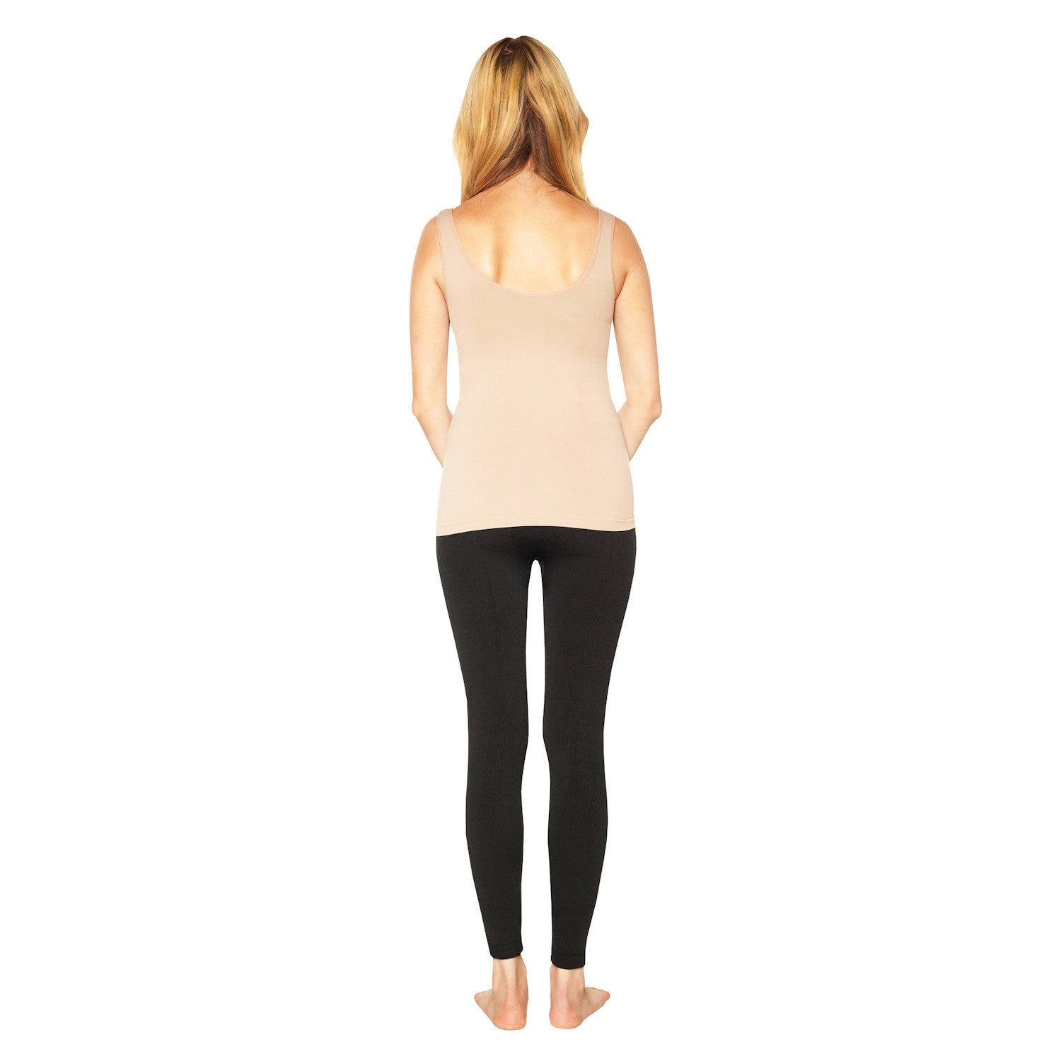 66103c0a35 Shop Ahh by Rhonda Shear Women s Seamless Shaping Tank Top with Built-In  Shelf Bra - On Sale - Free Shipping On Orders Over  45 - Overstock -  20487475