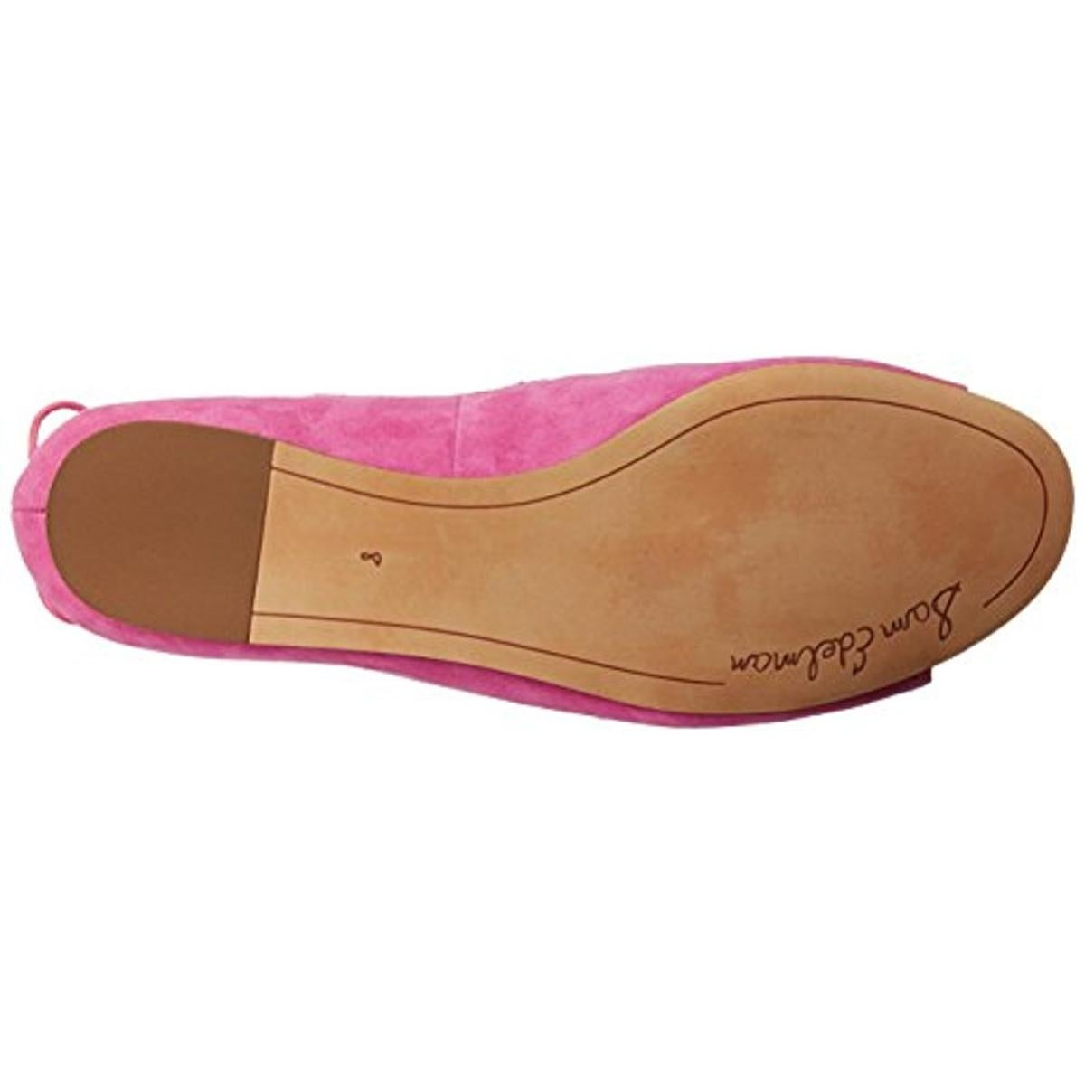 fcae5805bdcc Shop Sam Edelman Womens Barbara Flats Suede Open Toe - Free Shipping On  Orders Over  45 - Overstock - 21027721