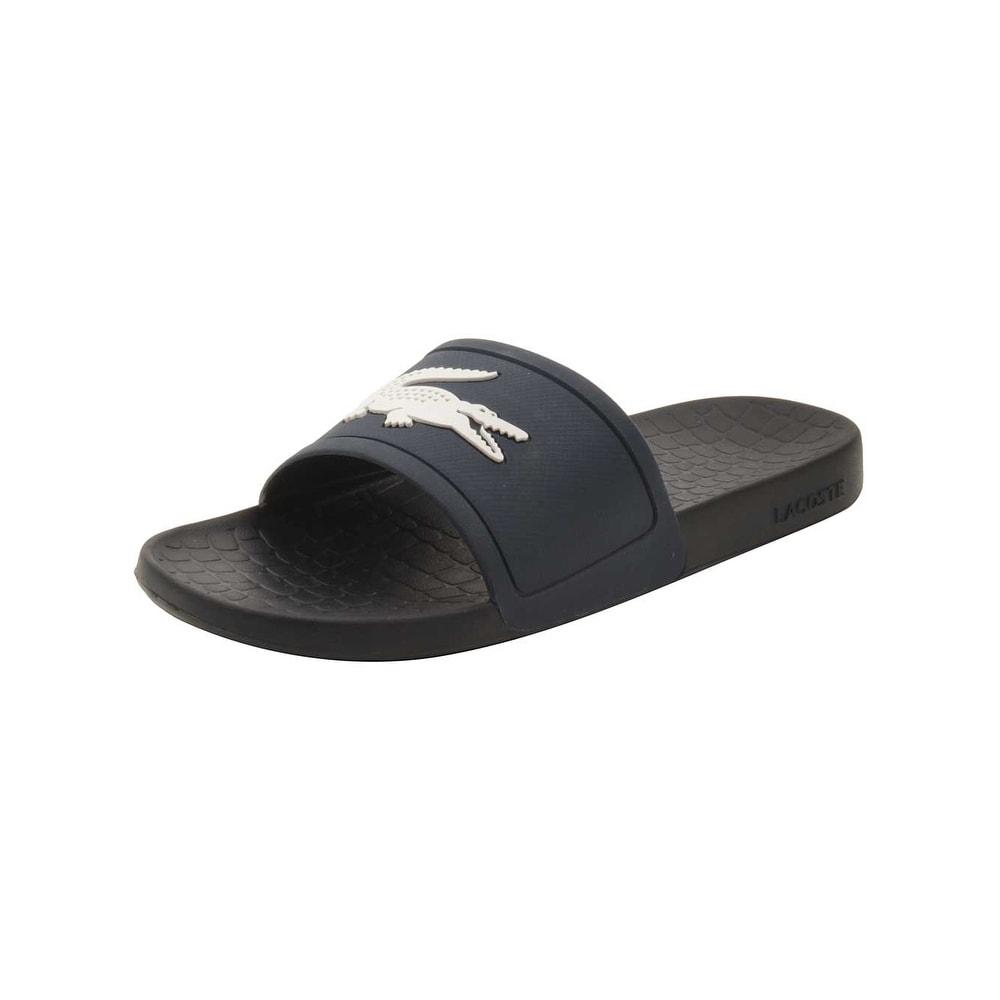 0121387dc2cd33 Shop Lacoste Men s Fraisier 318 1 P Slide Sandal - Free Shipping On ...