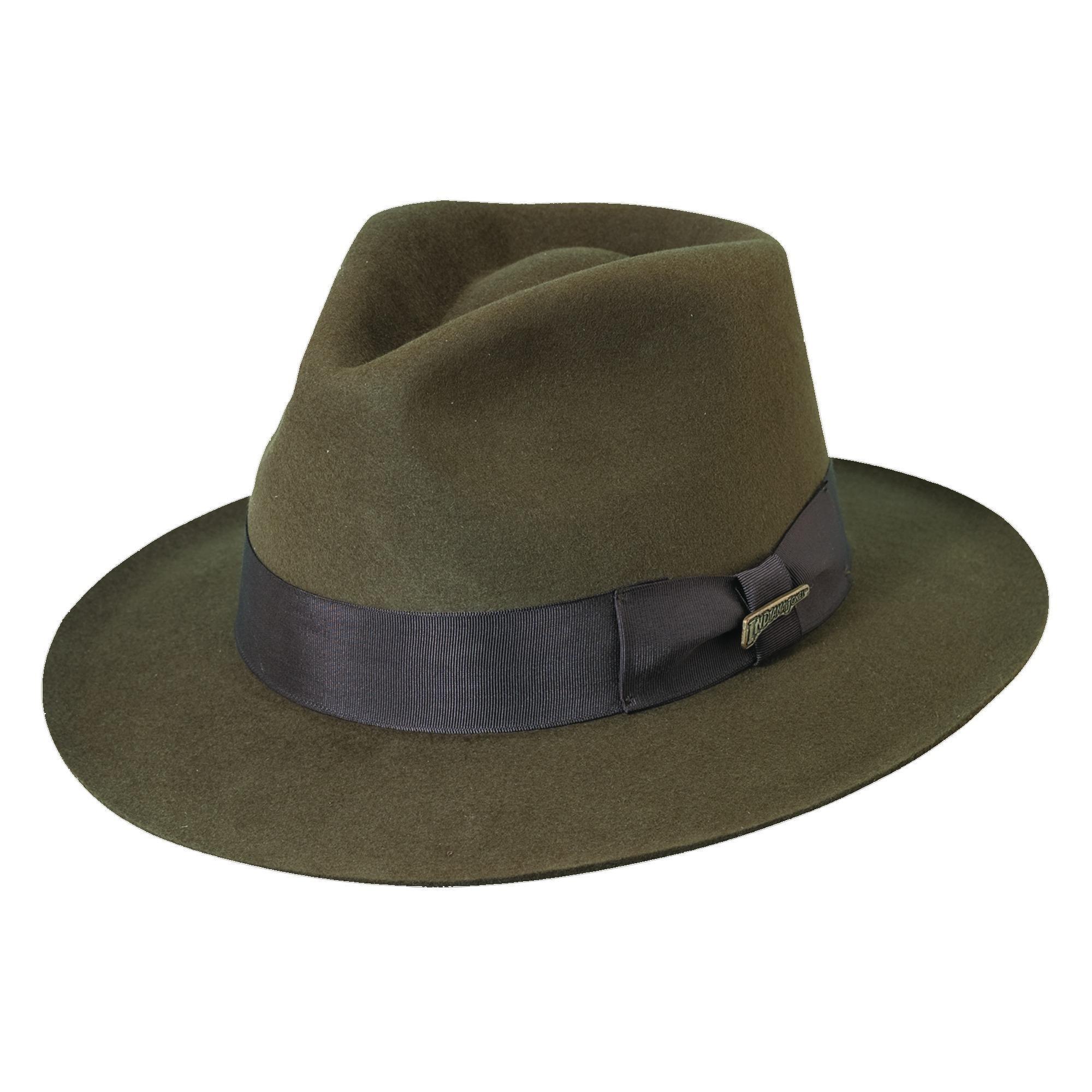 2d4e04d1727 Shop Dorfman Pacific Men s Fur Felt Indiana Jones 2.5 Inch Brim Fedora Hat  - Free Shipping Today - Overstock - 14281950