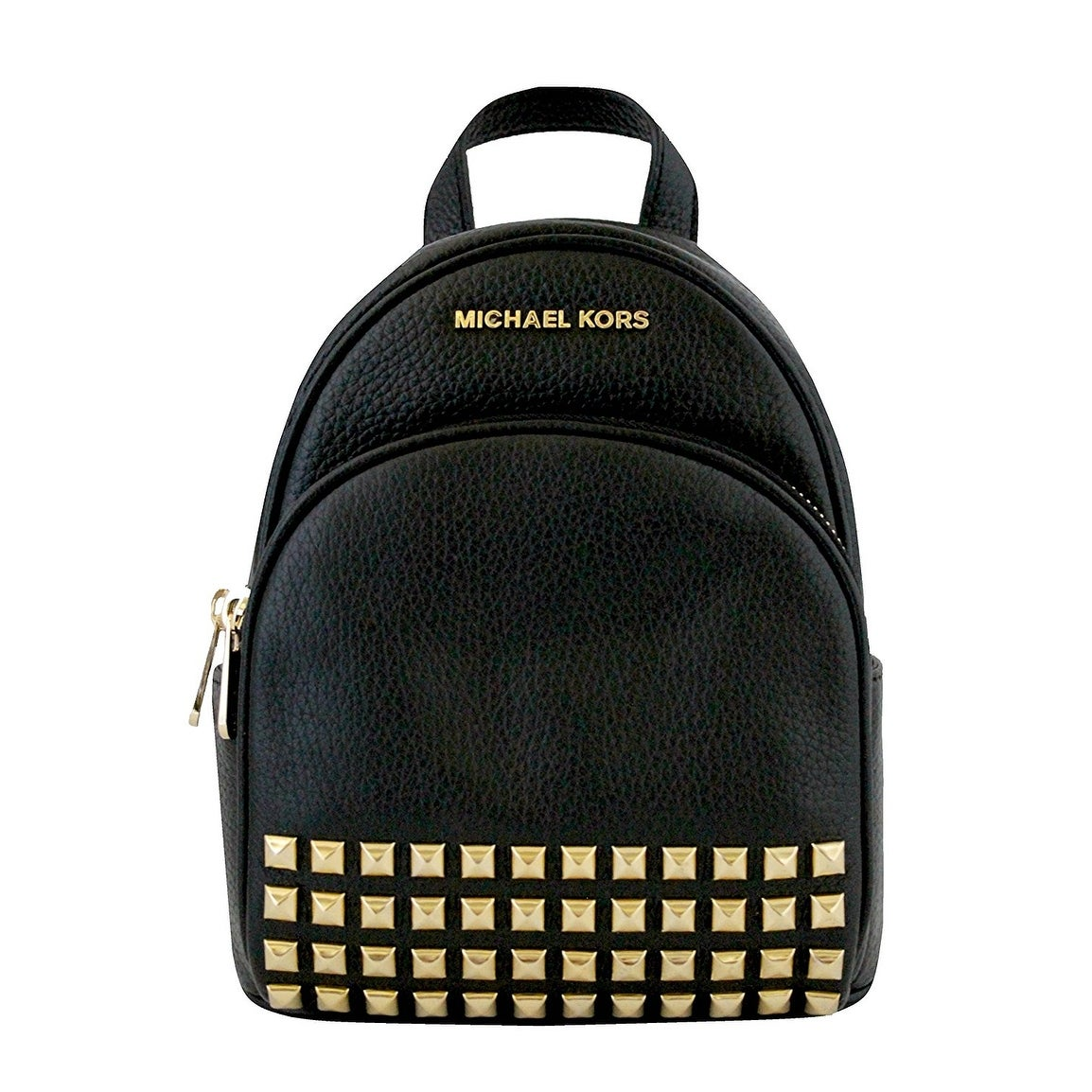 56cd4ced7b0c Shop Michael Kors Abbey Extra Small Studded Backpack In Black - Free  Shipping Today - Overstock - 21156931