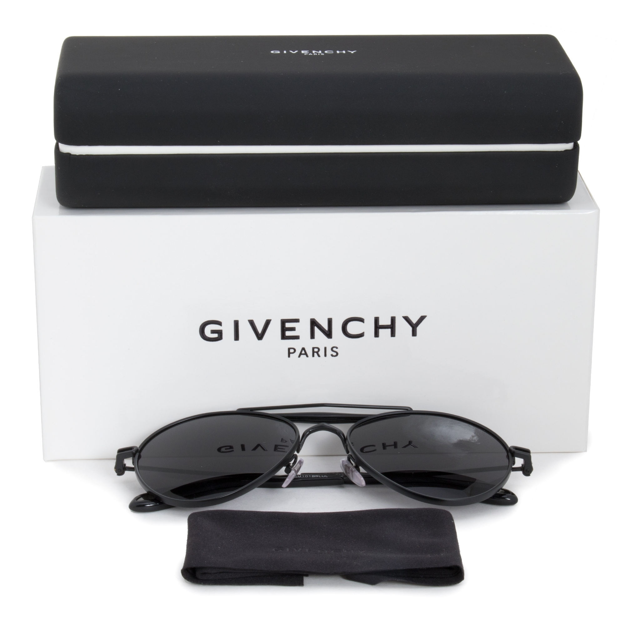 9ba3a04cf23bf Shop Givenchy Aviator Sunglasses GV7012 S PDE E5 56 - On Sale - Free  Shipping Today - Overstock - 21408755