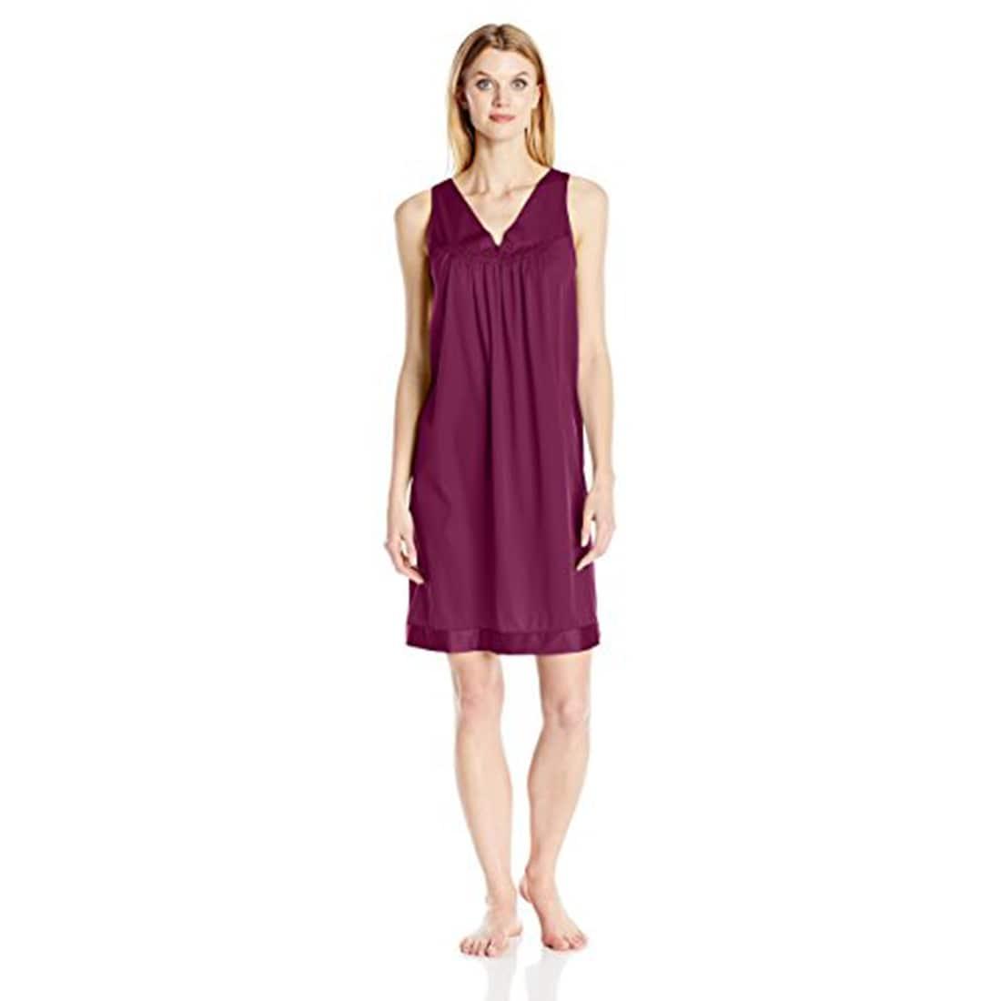 Shop Vanity Fair Women\'s Coloratura Sleepwear Short Gown 30107 - On ...