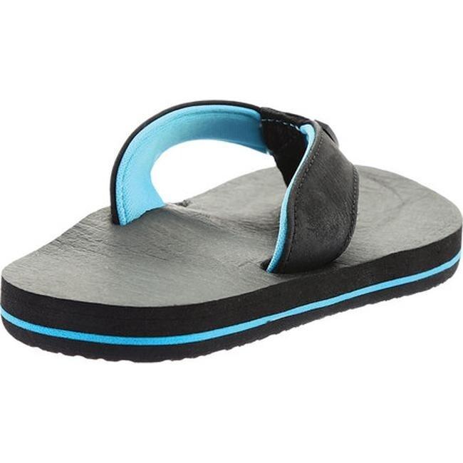 489782c22 Shop Scott Hawaii Boys  KilaKila Flip Flop Black Polyurethane Leather -  Free Shipping On Orders Over  45 - Overstock - 19891703