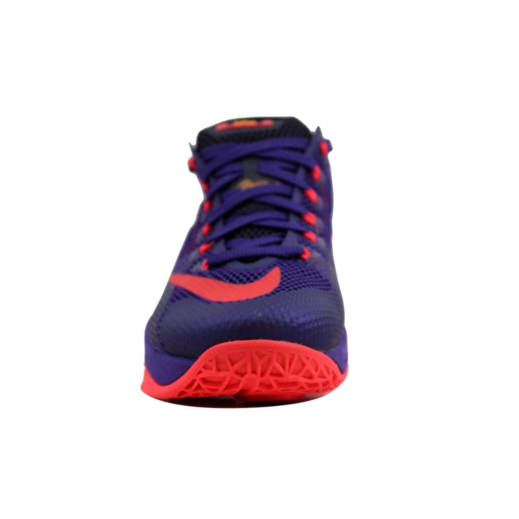 f5c3f6e119fd Shop Nike Men s Lebron XII 12 Low Court Purple Bright Crimson-Cave Purple  724557-565 - Free Shipping Today - Overstock - 23436716