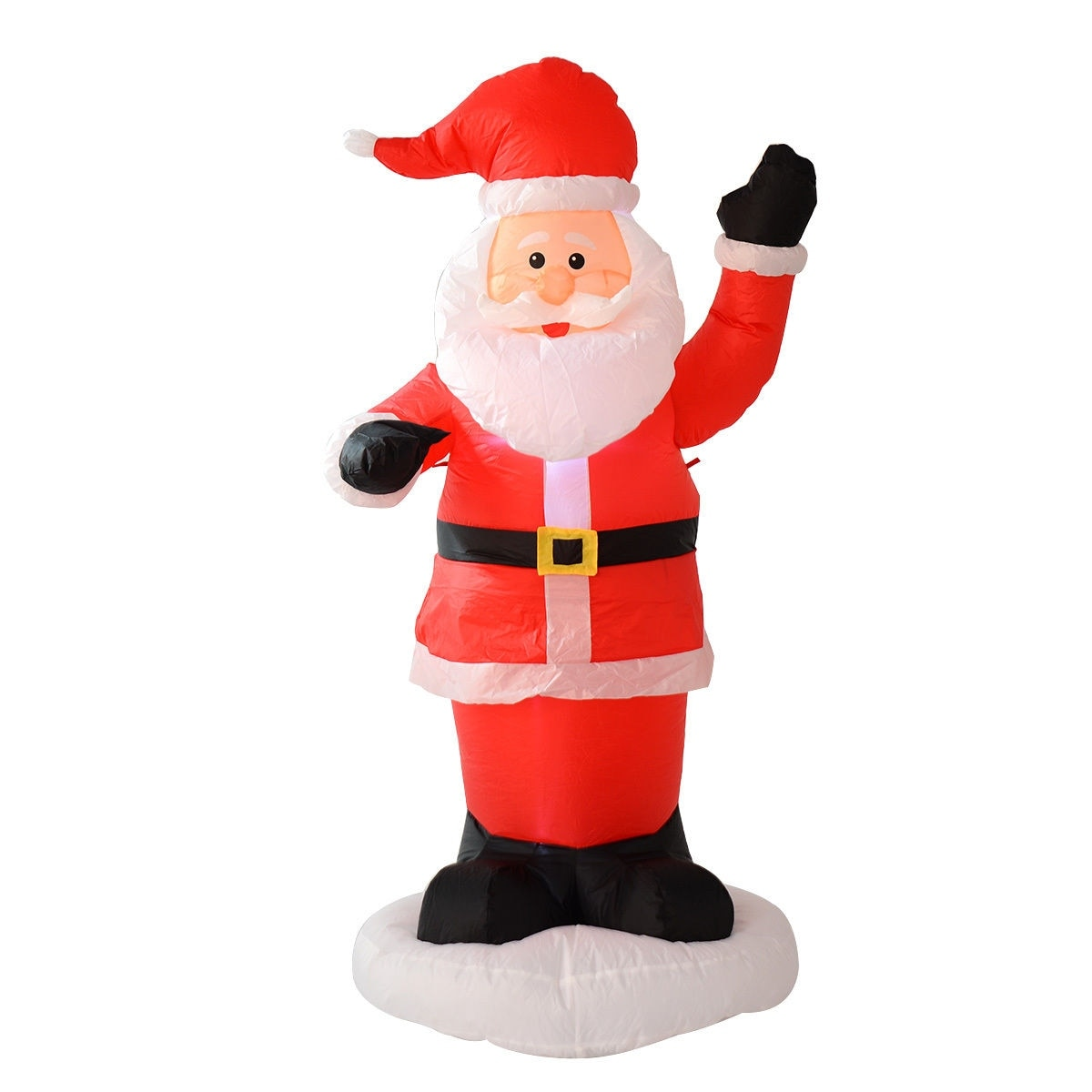 Shop Costway 6Ft Airblown Inflatable Christmas Xmas Santa Claus ...