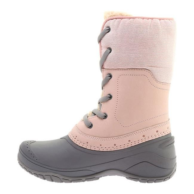 fc0e4f4da The North Face Women's Shellista Roll-Down Waterproof Boot Misty  Rose/Q-Silver Grey