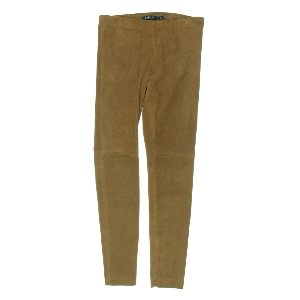 79f21494e1be4 Shop Lauren Ralph Lauren Womens Skinny Pants Lamb Suede Ankle Zippers -  Free Shipping Today - Overstock - 18805779