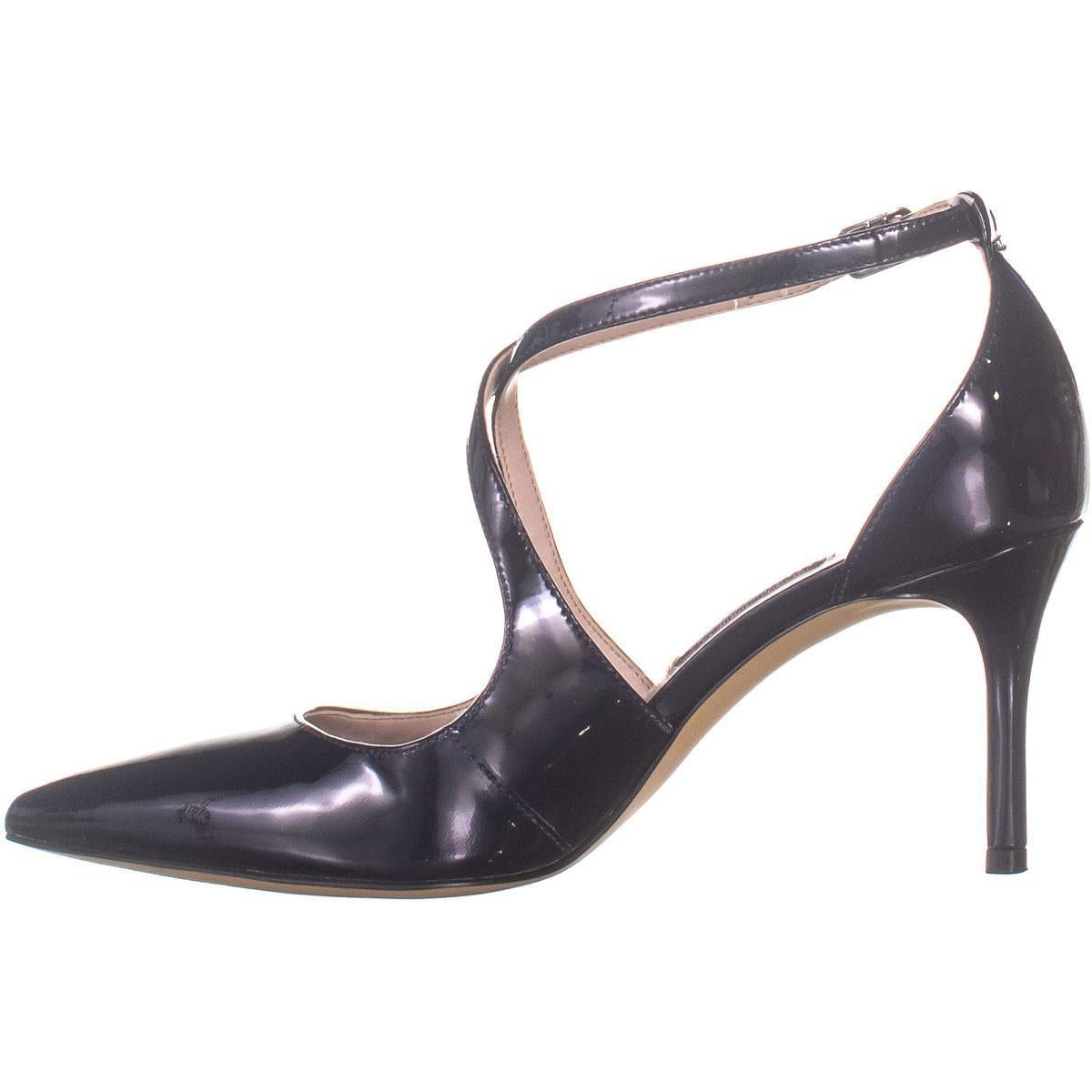 122049471e Shop Nine West Micaela Strappy Pumps, Navy - 5 US - On Sale - Free Shipping  Today - Overstock - 27424378