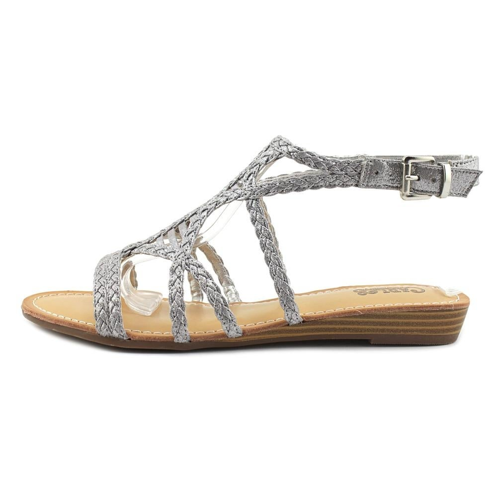 240c835721cf Shop Carlos by Carlos Santana Turner Women Inox Sandals - Free ...
