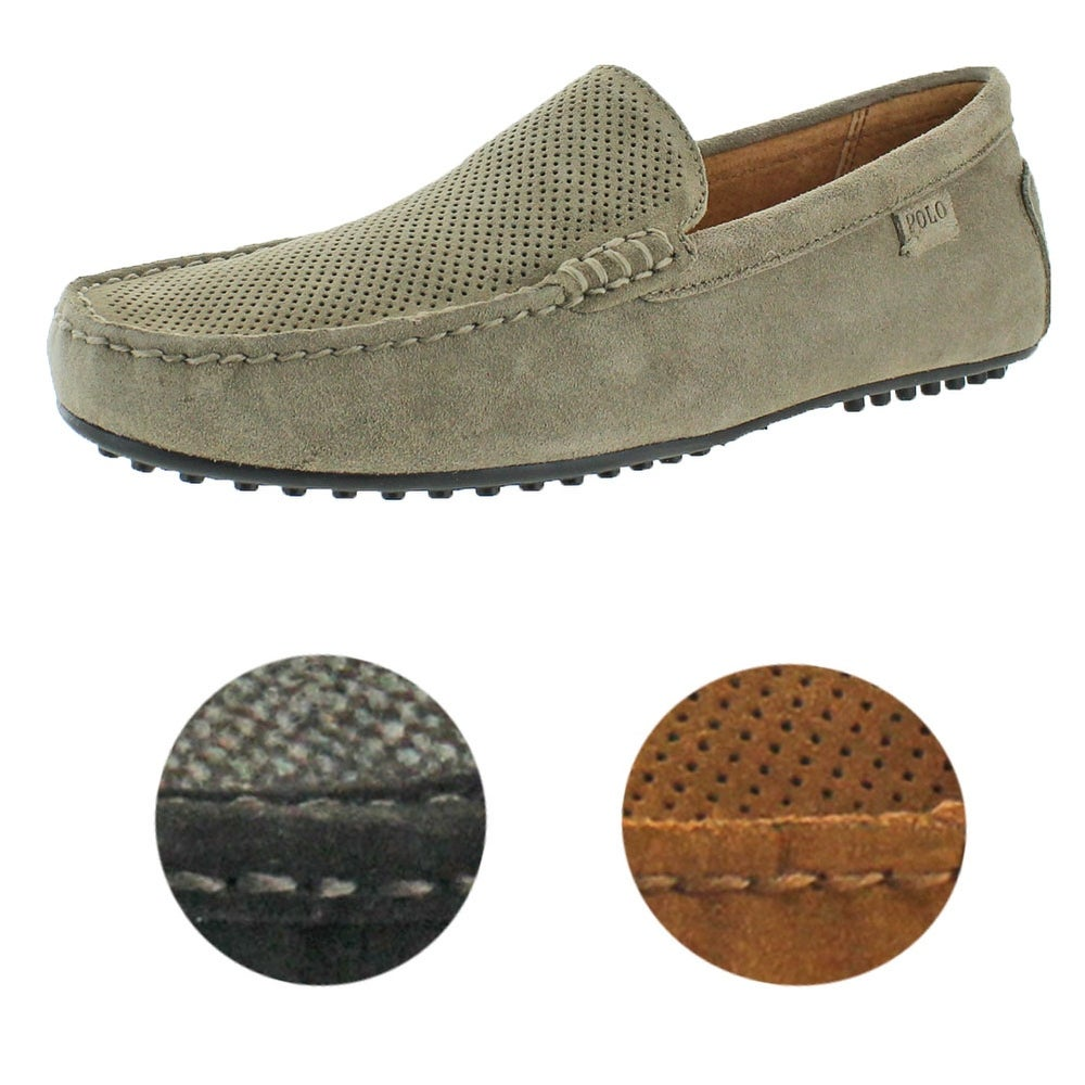 f587ee374bb Shop Polo Ralph Lauren Woodley Men s Driving Moccasins S - Free Shipping  Today - Overstock - 20470943