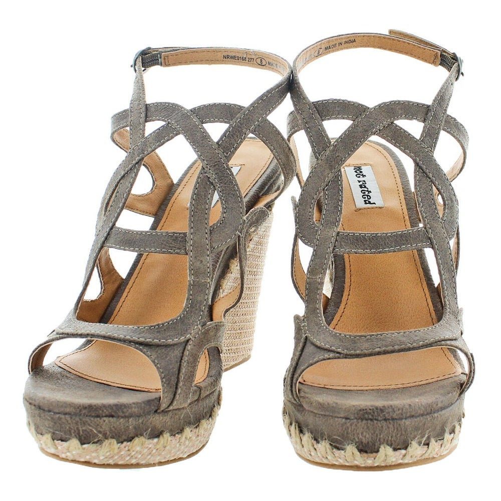 6950d84af59 Shop Not Rated Anatolia Women s Strappy Wedge Sandal Shoes - Free Shipping  On Orders Over  45 - Overstock - 20263195