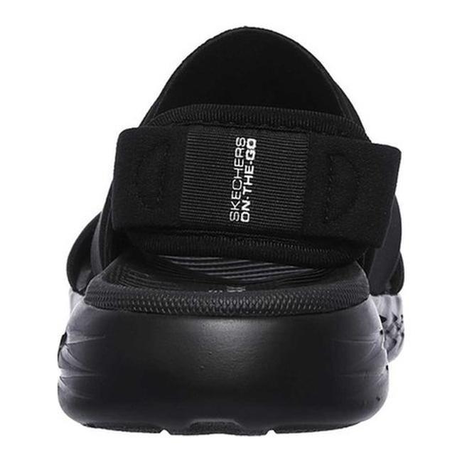 46d91169ecc4 Shop Skechers Women s On the GO 600 Foxy Slingback Sandal Black Black - On  Sale - Free Shipping Today - Overstock - 19552567