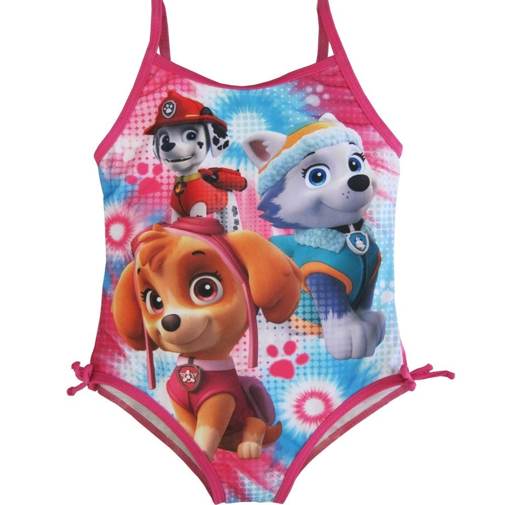 2667bc3a4639a Shop Nickelodeon Little Girls Fuchsia Paw Patrol Print One Piece Swimsuit  4-6X - Free Shipping On Orders Over  45 - Overstock.com - 18162513