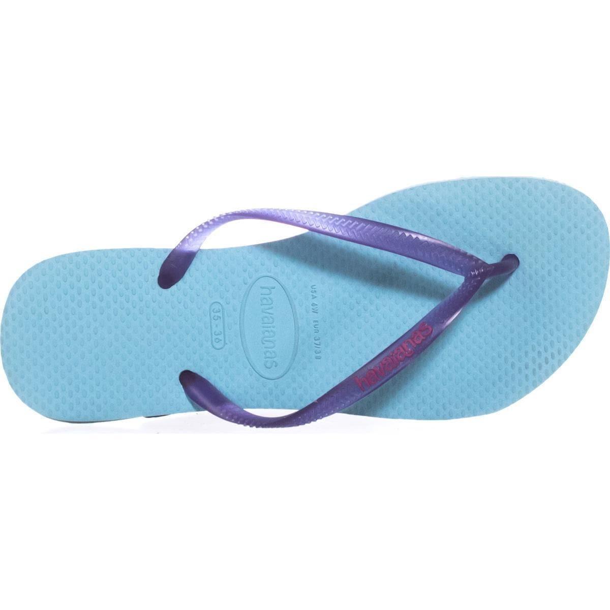 75f8c2b44 Shop Havaianas Slim Logo Pop Up Two-Tone Flip Flops