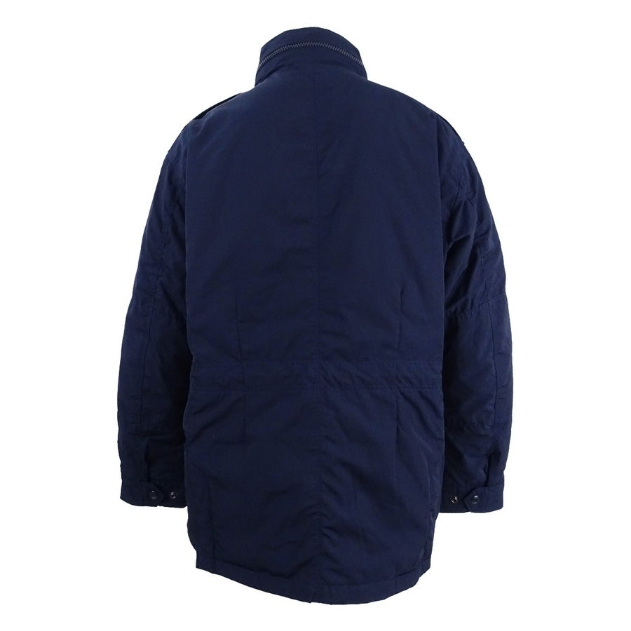 Shop Polo Ralph Lauren Men\u0027s Double-Vented Utility Down Jacket (XXL, Navy)  - Navy - XxL - Free Shipping Today - Overstock.com - 21184618