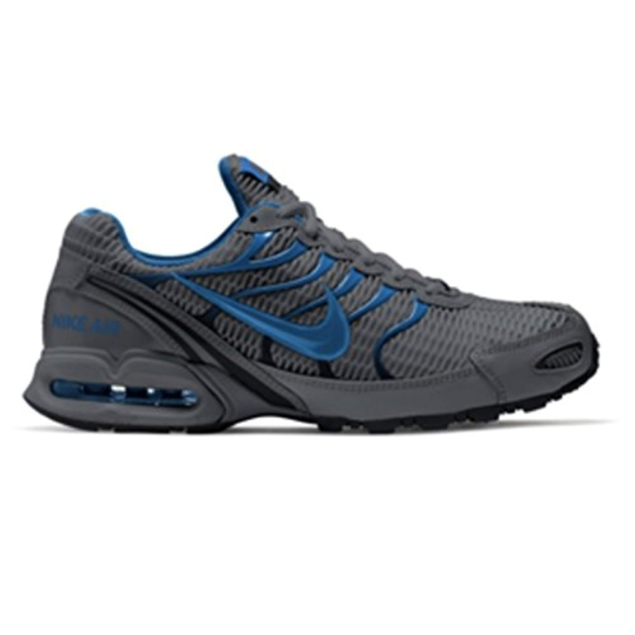 on sale ce112 91ab8 Shop Nike Mens Air Max Torch 4, Cool Grey Military Blue-Black - Free  Shipping Today - Overstock - 27125100