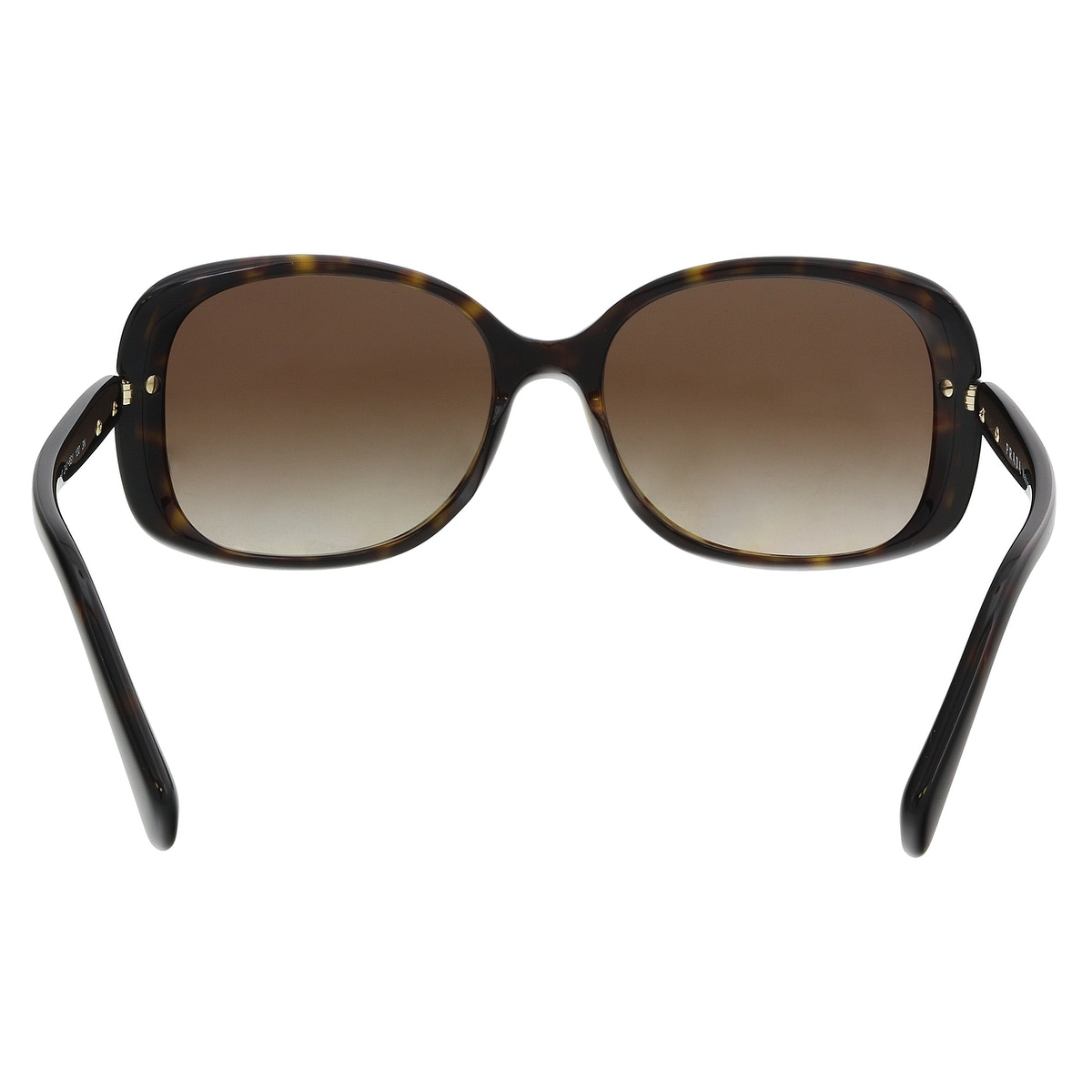3d9b15700caa8d Shop Prada PR08OS 2AU6S1 Havana Rectangle Sunglasses - 57-17-130 - Free  Shipping Today - Overstock - 21158227