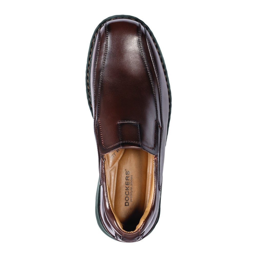 d8653709717 Shop Dockers Mens Agent Leather Dress Casual Loafer Shoe - On Sale - Free  Shipping Today - Overstock - 22538659