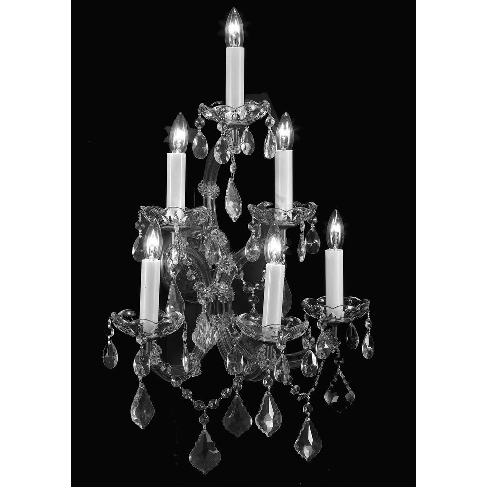 Swarovski Elements Crystal Trimmed Chandelier Lighting Maria