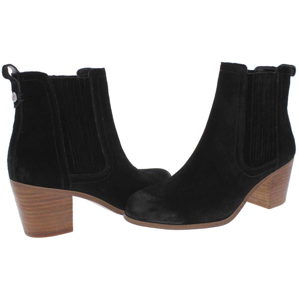 fde2cee19 Shop Sam Edelman Womens Lance Ankle Boots Suede Block Heel - Free Shipping  On Orders Over  45 - Overstock - 21178009