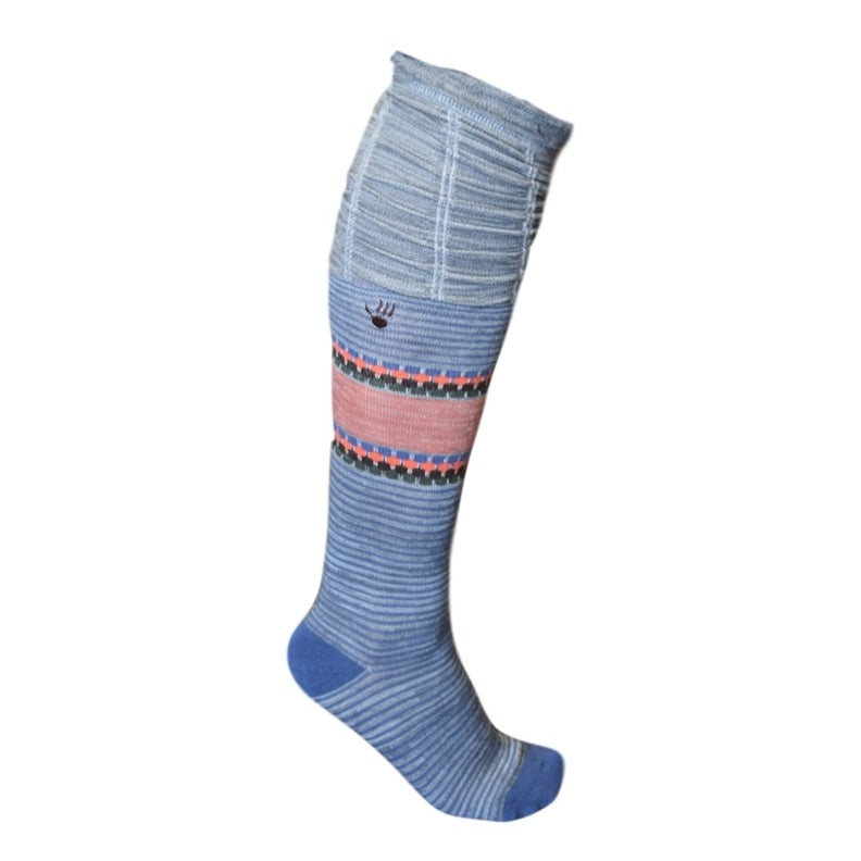 8a769c661 Shop Bearpaw Fashion Socks Womens Scrunch Top Knee High Sock - One size -  Free Shipping On Orders Over  45 - Overstock - 19420941