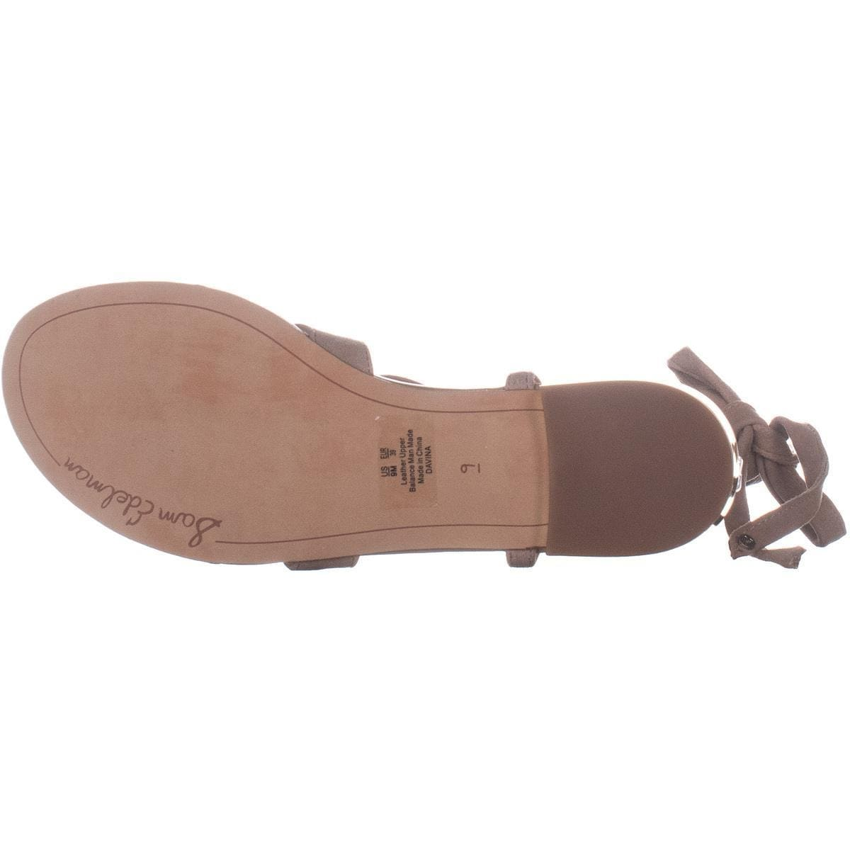 ab757fd90 Shop Sam Edelman Davina Lace Up Flat Sandals