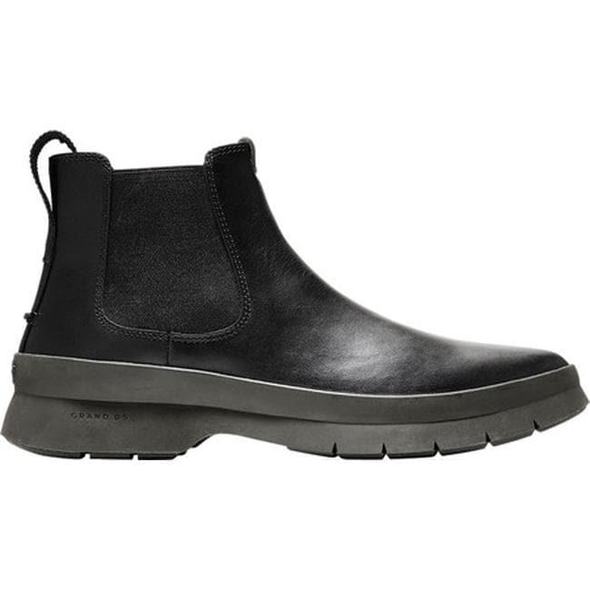 bba350a7781 Shop Cole Haan Men s Pinch Utility Waterproof Chelsea Boot Black Hazel  Waterproof Leather - Free Shipping Today - Overstock - 24306910