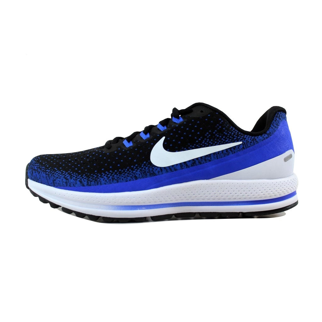 Shop Nike Men s Air Zoom Vomero 13 Black Blue Tint-Racer Blue 922908-002 -  Free Shipping Today - Overstock - 21141315 bc2f404e4