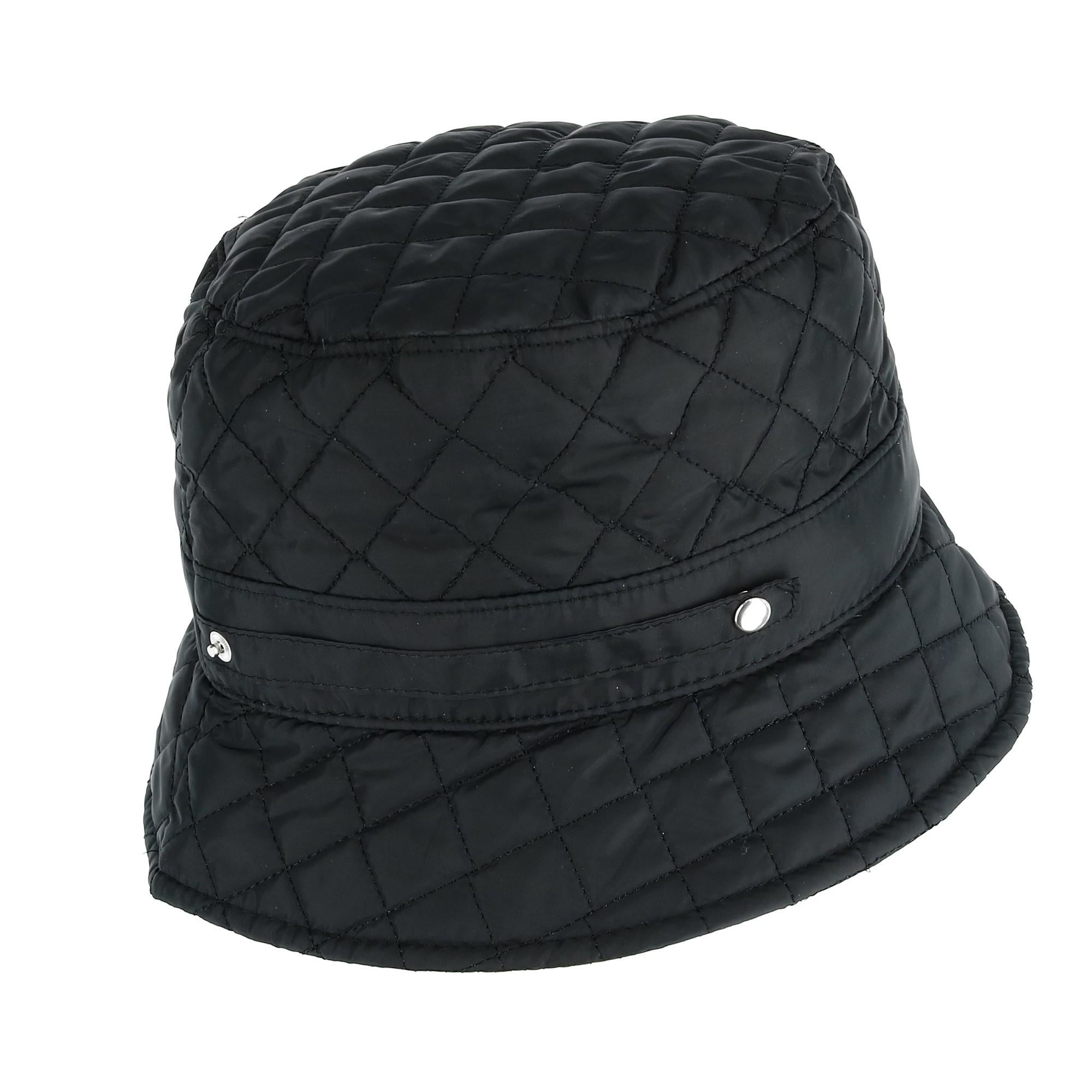 1d55b546715 Shop CTM® Women s Packable Quilted Rain Bucket Hat - Free Shipping On  Orders Over  45 - Overstock - 23600841