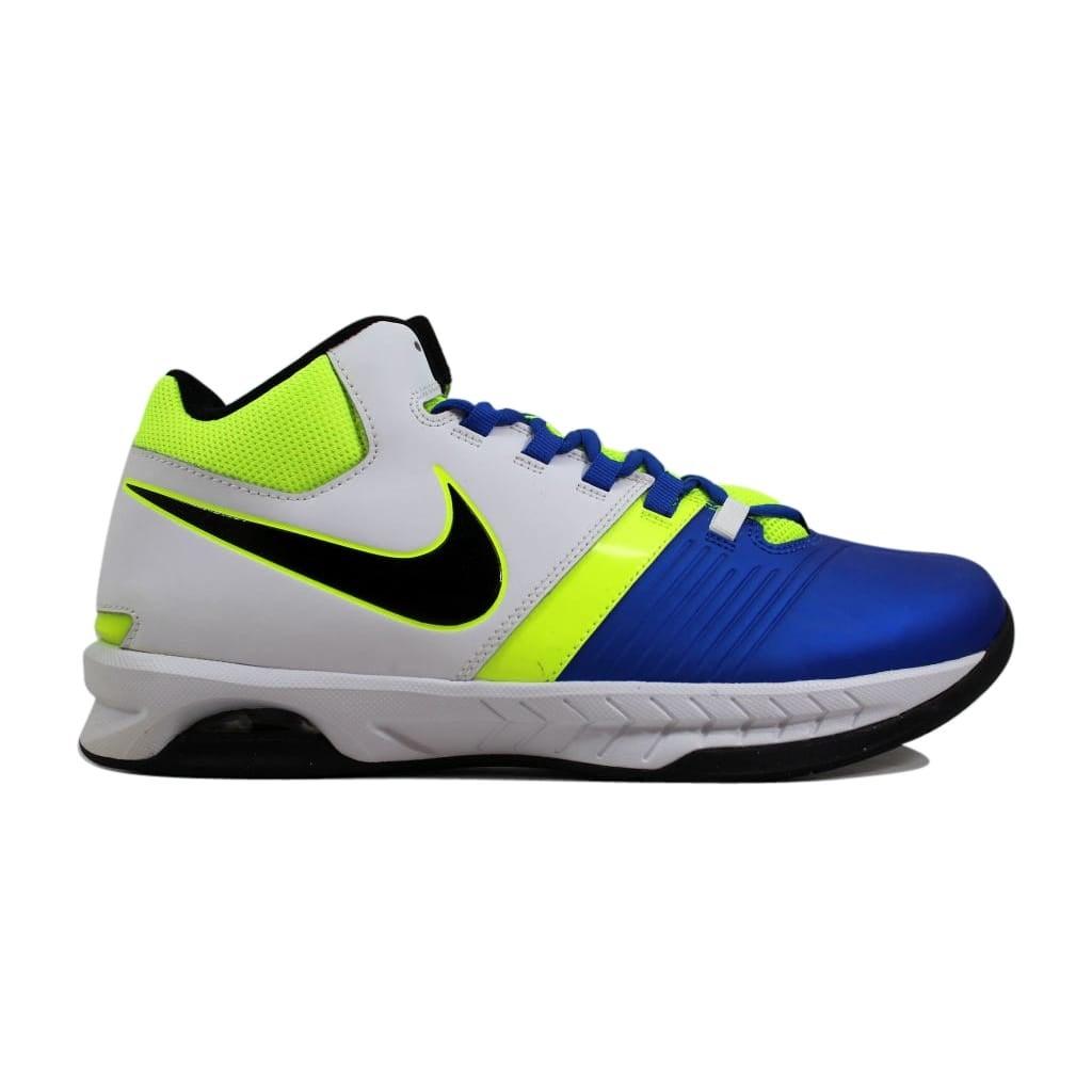 6832f0aa700 Shop Nike Air Visi Pro V Hyper Cobalt Black-White-Volt 653656-401 Men s -  Free Shipping Today - Overstock - 24014925
