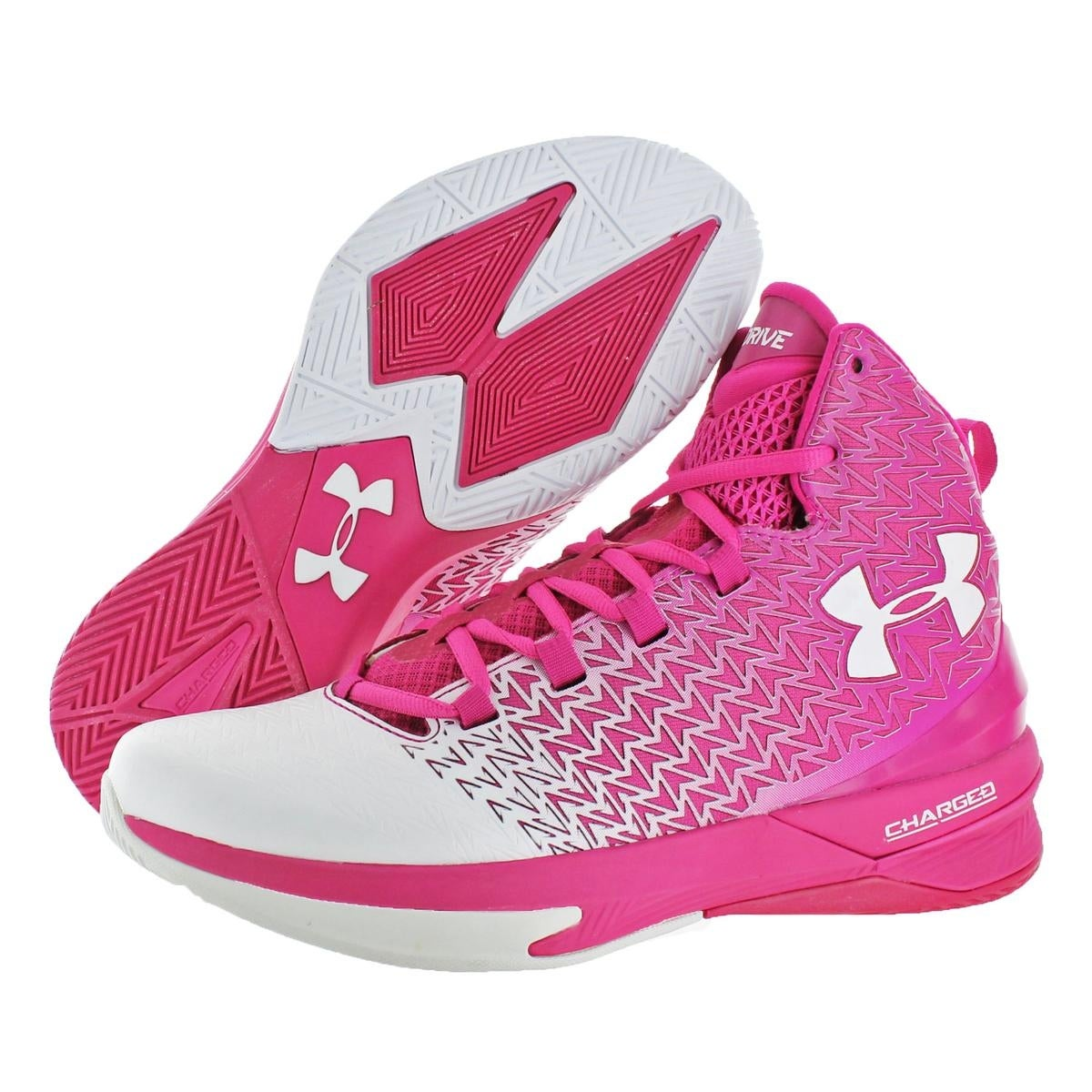 ebd3788bbb15 Shop Under Armour Mens Clutchfit Drive 3 Basketball Shoes High Top ...