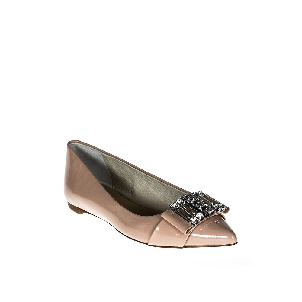 25556234b Shop Michael Michael Kors Womens Michelle Pointed Toe Slide Flats - Free  Shipping Today - Overstock - 20546070