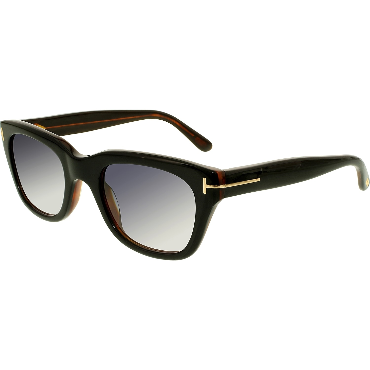 fbd5e61aaa5 Tom Ford Men s Gradient Snowdon FT0237-05B-50 Brown Square Sunglasses