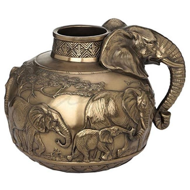 Shop Unicorn Studios Wu72001v1 Safari Elephants Vase Home Decor