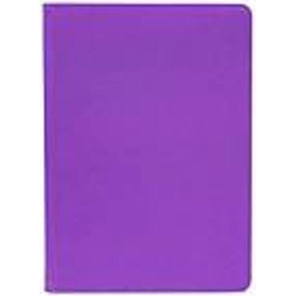 M-Edge Carrying Case (Folio) for 8 iPad mini - Purple - Ballistic Nylon,  Silicone Strap