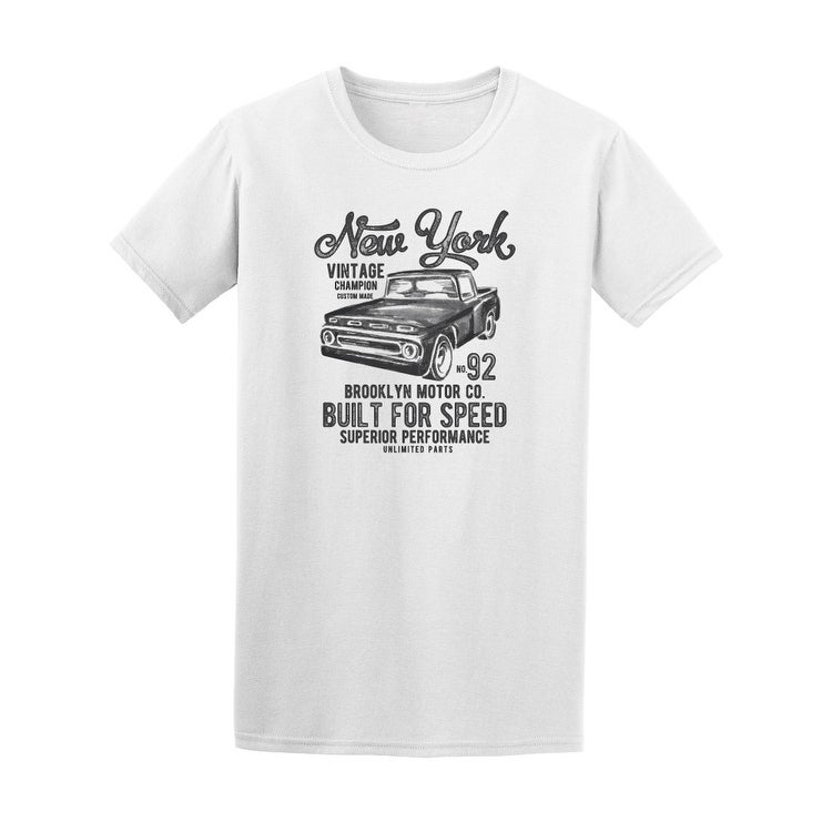 477da6fac Shop New York Vintage Cars Race Tee Men's -Image by Shutterstock - Free  Shipping On Orders Over $45 - Overstock - 21183016