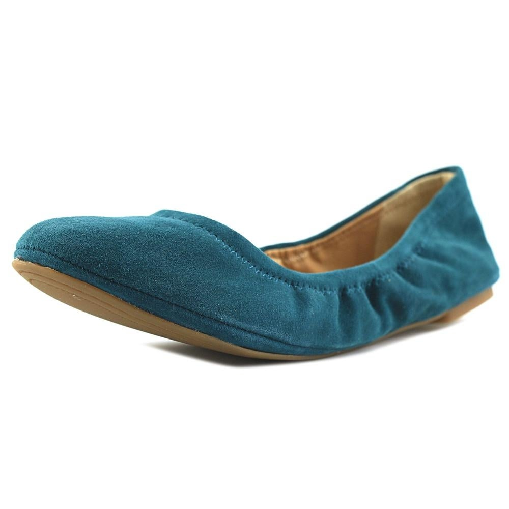 dba940609f08 Shop lucky brand emmie women dark teal flats free shipping jpg 1000x1000  Teal flat shoes for