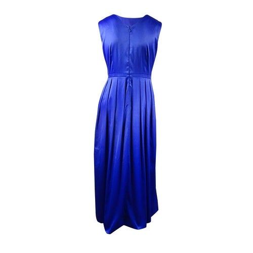 08f259928bb3b Shop Tahari Women's Formal Embellished Satin Gown - Royal - 14 - On Sale -  Free Shipping Today - Overstock - 17117091